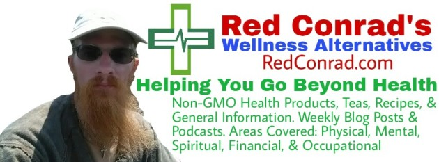 Red Conrad's Wellness Alternatives - Blog & Podcast, non-GMO & Organic products